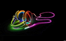 4-headphones-music-neon-psychadelic