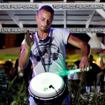 alessandro_querzoli_toko_loco_live_percussion_percussioni_disco_drum_show_percussionista_discoteca_4b_top_insta